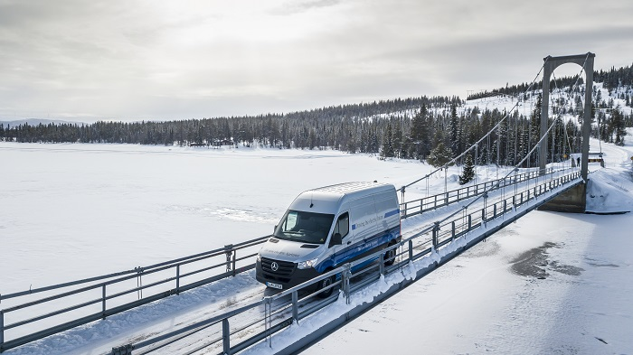 Market Launch of the eSprinter in the Second Half of 2019