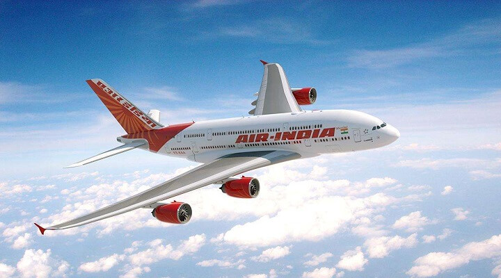 Air India: Ahmedabad to Newark flight