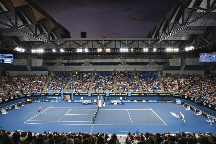 Australian Open launches in Melbourne
