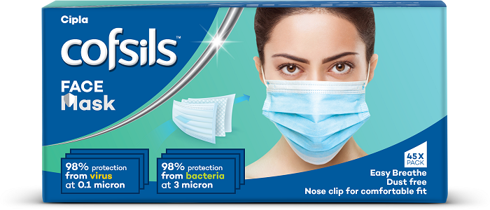 Cofsils launches face masks