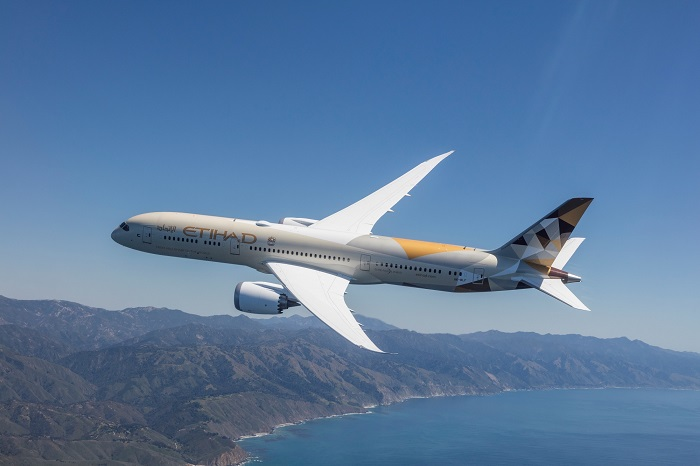 Etihad Airways: 787 Dreamliner to Barcelona