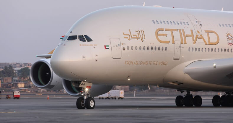 Etihad Airways: Senior citizens' package