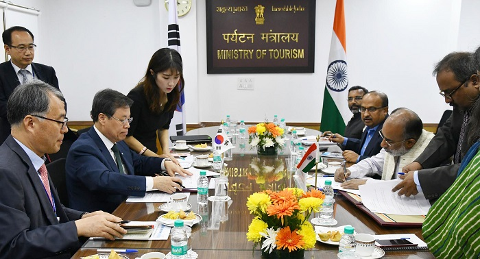 India and the Republic of Korea sign MoU