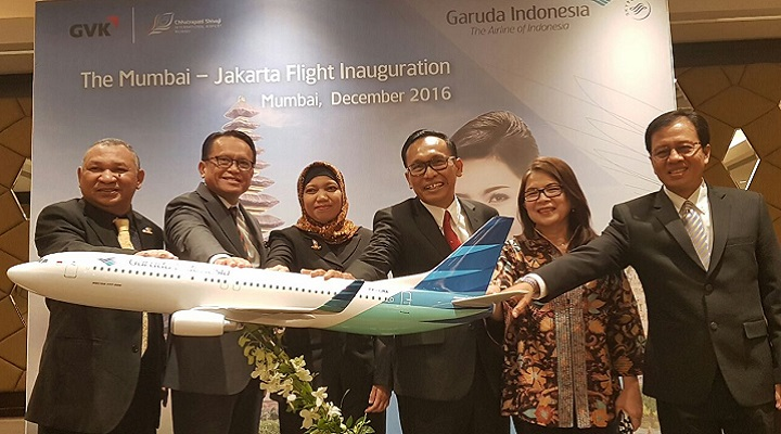 GARUDA INDONESIA, NEW SERVICE TO MUMBAI