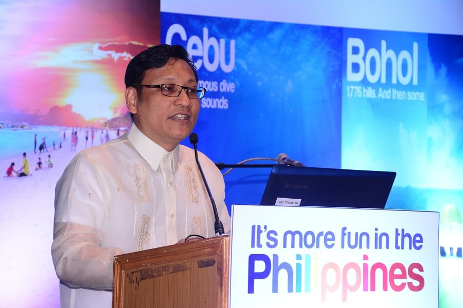 India is an important source market for the Philippines