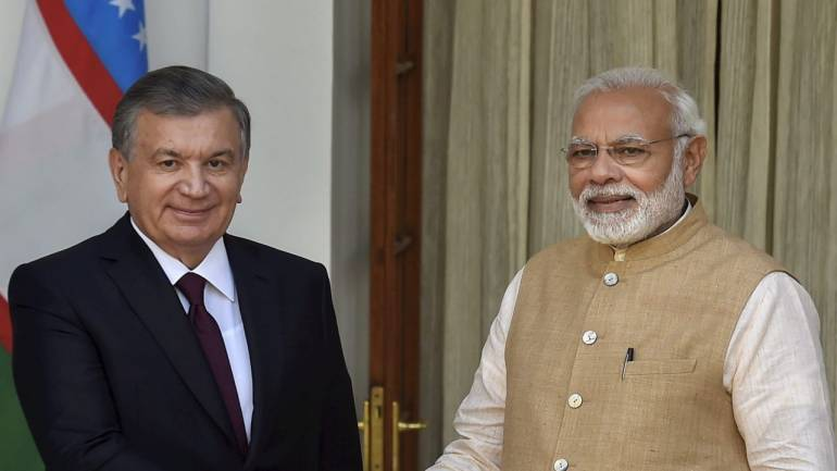 MoU signed between India and Uzbekistan