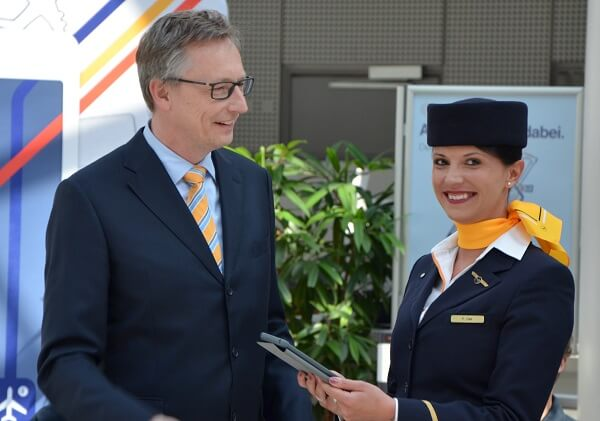 year of digitization at Lufthansa
