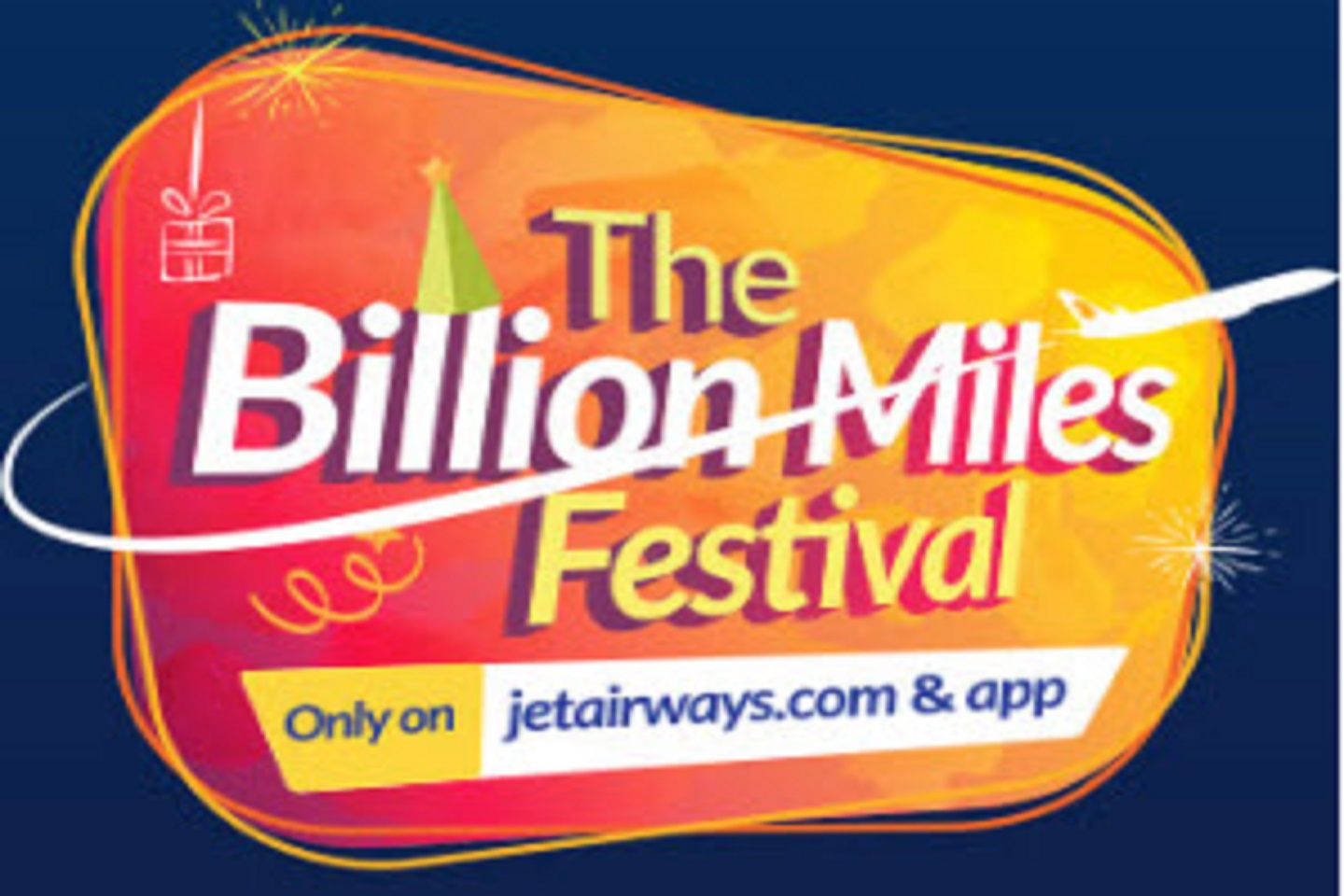 Billion Miles Festival launched by Jet Airways