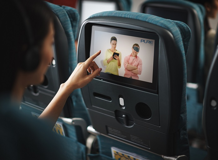 Cathay Pacific: yoga to the sky