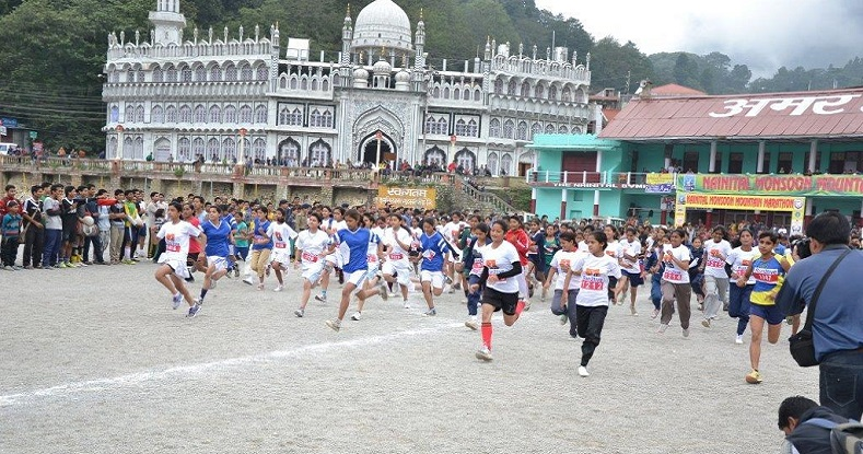 Put your shoes on for -Namah Nainital Monsoon Mountain Marathon on 28th August 2016
