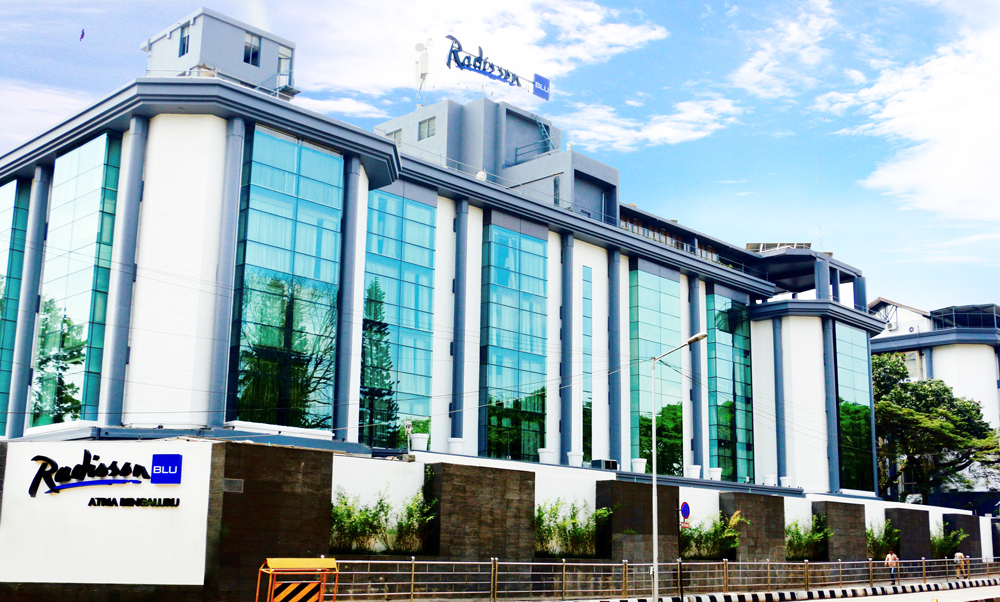 Experience Royalty at Radisson BLU Atria  in Bengaluru