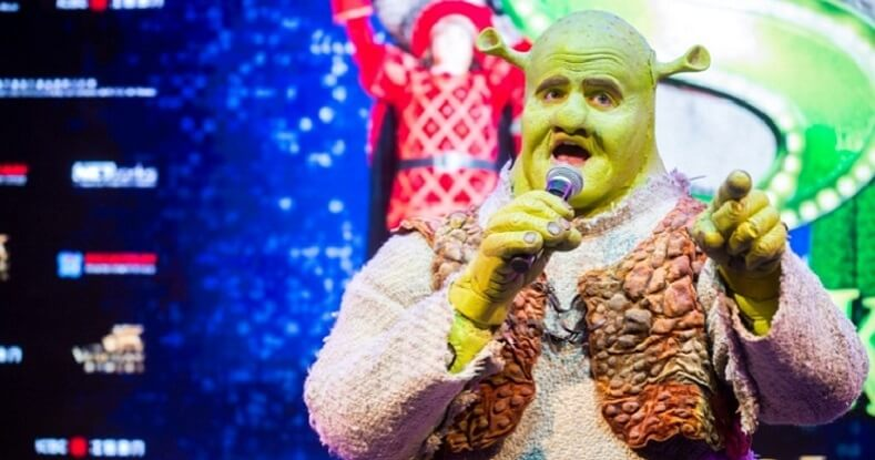 SHREK THE MUSICAL Cast and Crew Visit