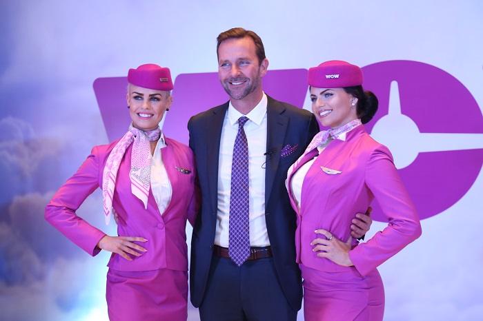 WOW air flight operation in India with low airfares