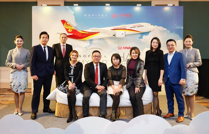 Sofitel partners with Hainan Airlines