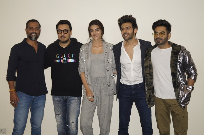 Luka Chuppi promotion In New Delhi