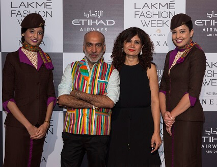 Etihad Airways presents Manish Arora