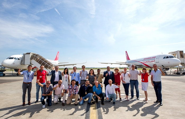 Air Arabia two new Airbus - A320 aircraft