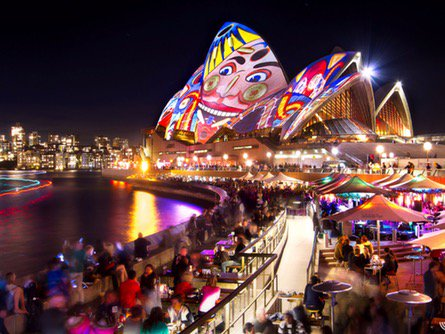 World Record of Vivid Sydney