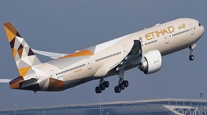 Etihad new service to Italy