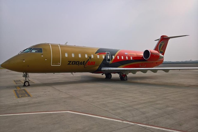 NEW INDIAN AIRLINE : ZOOM AIR